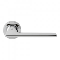 Дверная ручка на розетке Colombo Alato JP 11 хром R ф/з