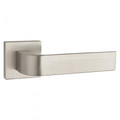 Дверная ручка на розетке Tupai 2732 Q 142 никель