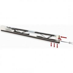 Автоматический уплотнительный порог COMAGLIO 1712/700 мм