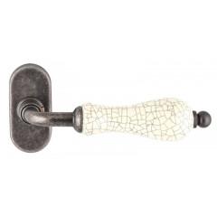 Extreza DANA CRACKLE 306 HQ дверная ручка для профильных дверей, цвет античное серебро F45 Античное серебро
