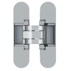 Дверная петля скрытой установки с 3-D регулировкой Morelli HH-20, цвет - матовый хром