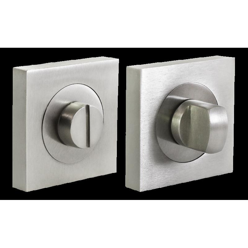LUX-WC-S2 NIS, завертка сантехническая, цвет - матовый никель/никель