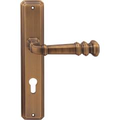 Дверная ручка на планке Forme 159/Atlas RAT Cyl Atlas Матовая бронза