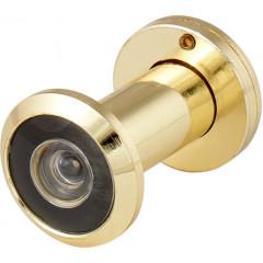 DVZ1, глазок, 16/200/35x60 (оптика пластик, угол обзора 200) GP Золото