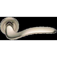COBRA R2 NIS/NIK, ручка дверная, цвет -  матовый никель/никель