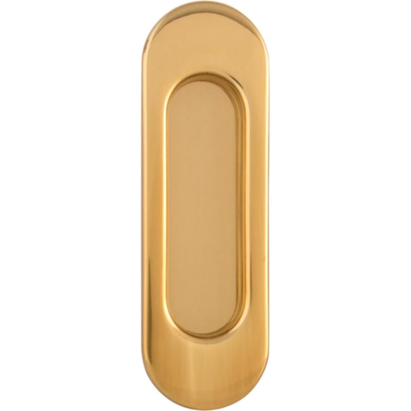 Ручка для раздвижных дверей Melodia KO01 Полированная латунь
