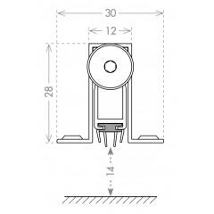 Автоматический порог EASY CON ALETTE ASAL A1/830