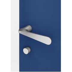 Дверная ручка без розетки NUDA PURE AL6 черный матовый