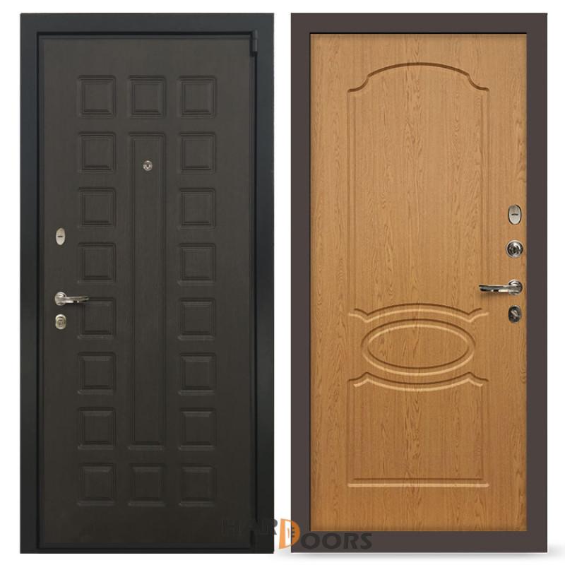 Входные двери Лекс 4А Неаполь Mottura Дуб натуральный (панель №15)