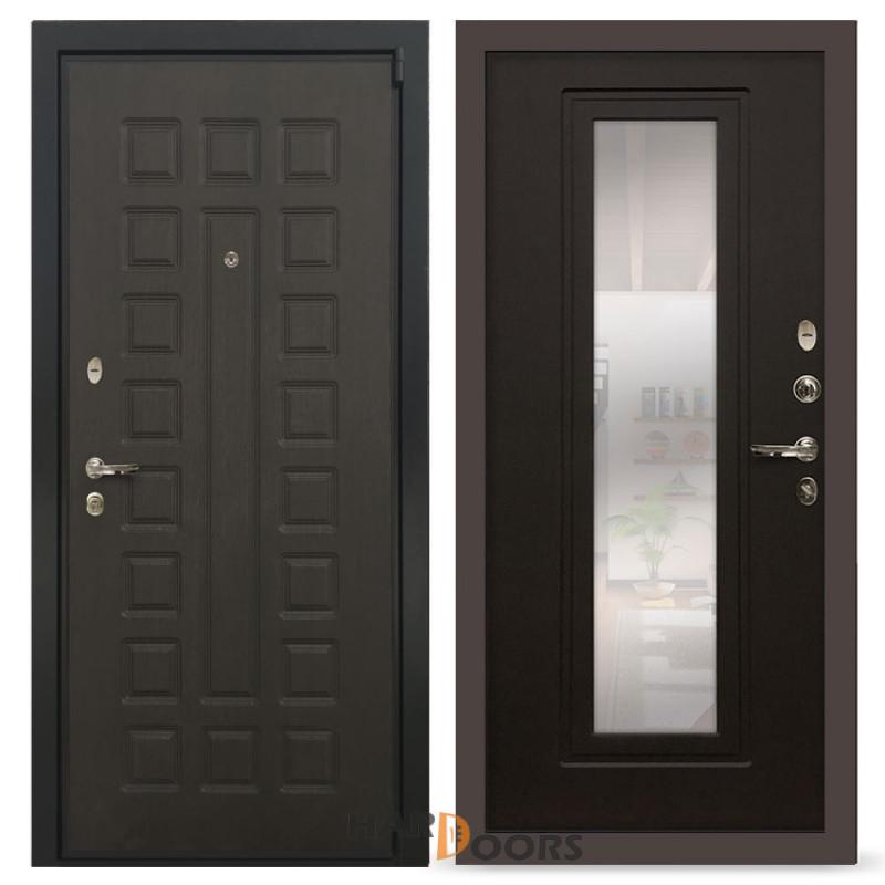Входные двери  Лекс 4А Неаполь Mottura с Зеркалом Венге (панель №22)