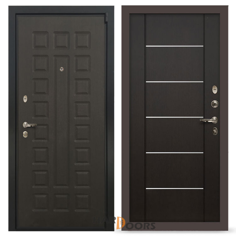 Входные двери Лекс 4А Неаполь Mottura Венге (панель №24)