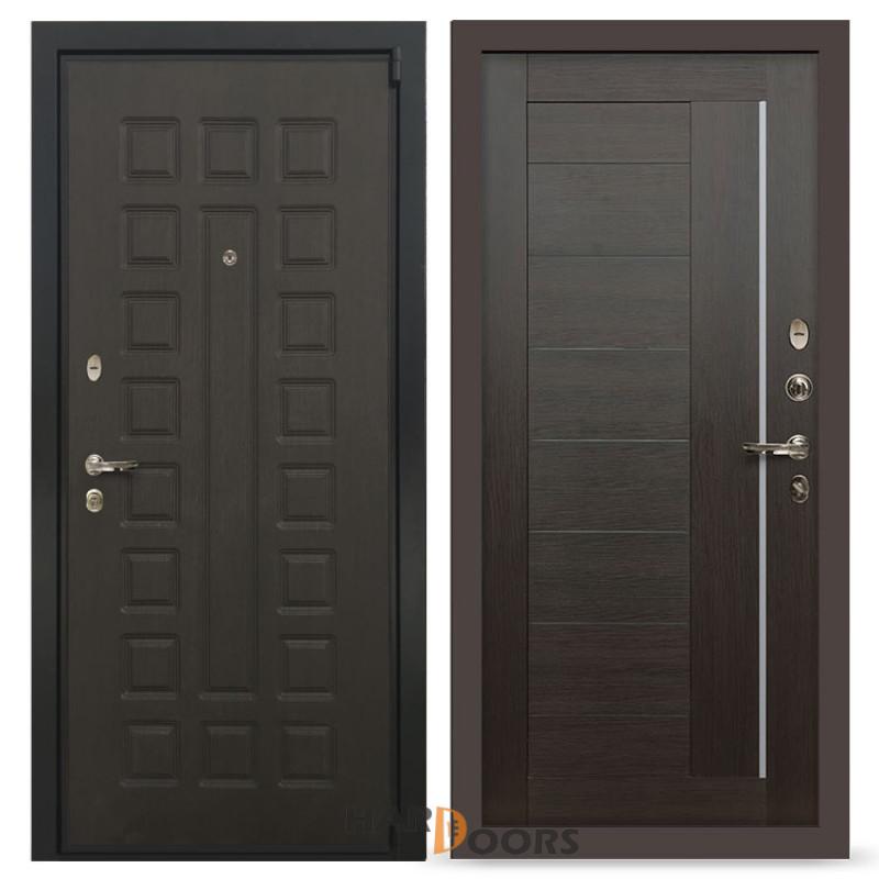 Входные двери Лекс 4А Неаполь Mottura Верджиния Венге (панель №39)