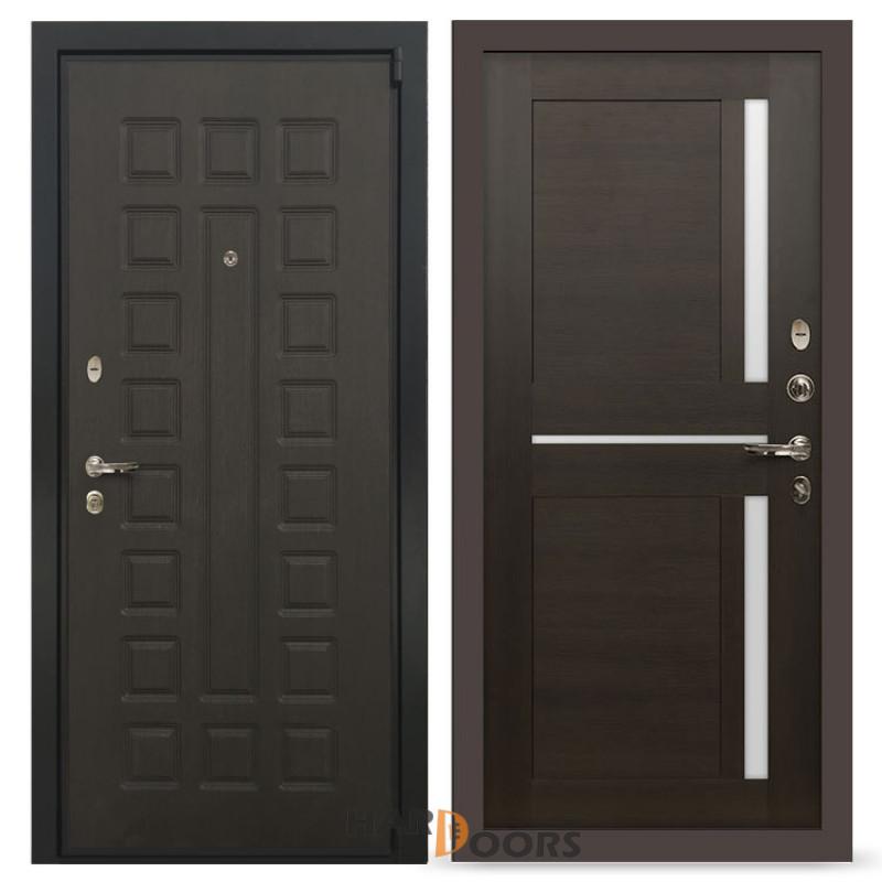 Входные двери Лекс 4А Неаполь Mottura Баджио Венге (панель №50)