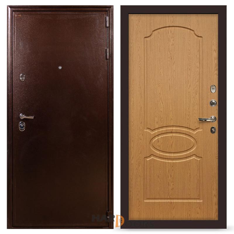 Входные двери Лекс 5А Цезарь Дуб натуральный (панель №15)