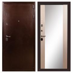 Лекс 5А Цезарь Стиль с Зеркалом Дуб беленый (панель №45)