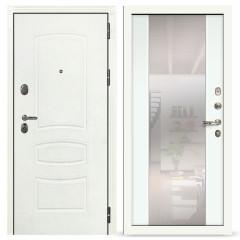 Лекс Легион 3К с зеркалом Шагрень белая / Ясень белый (панель №61)