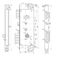 Лекс-3 БАРК Баджио Венге (панель №50)
