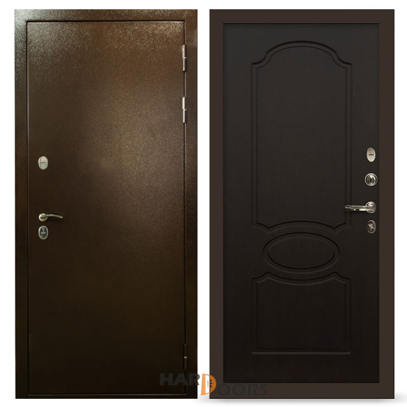 Входные двери Лекс Термо Сибирь 3К Венге (панель №13)