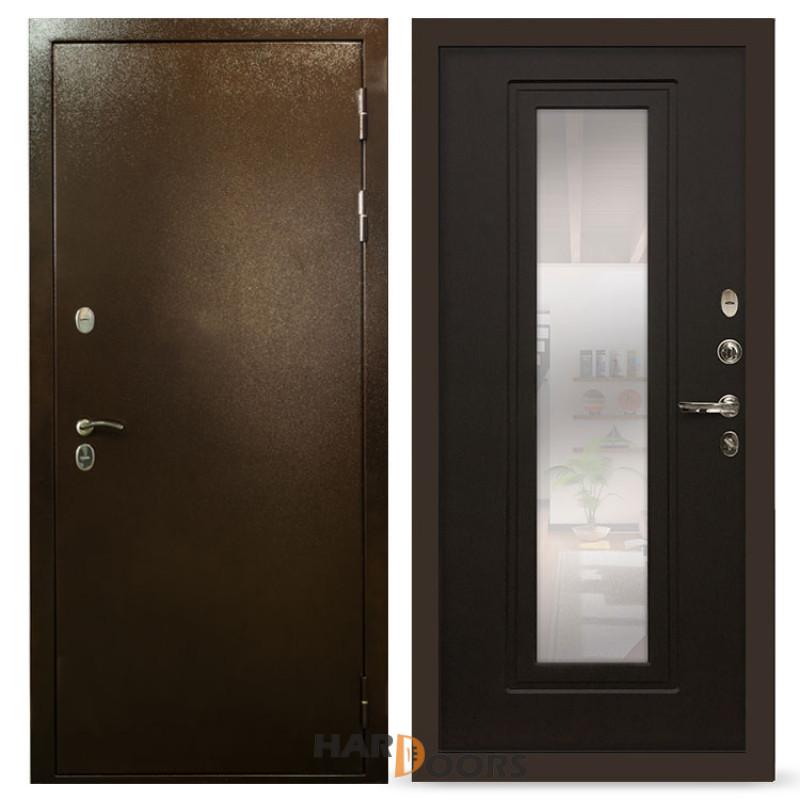 Входные двери Лекс Термо Сибирь 3К с зеркалом Венге (панель №22)