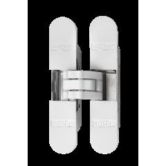 Петля скрытая 3D CEMOM Estetic 40 / A, белый. Нагрузка 40 кг на две петли.