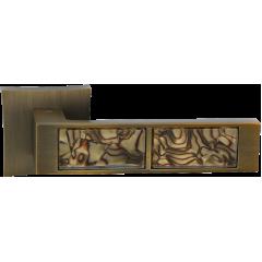 "Дверная ручка на розетке ORO&ORO ""921-13"", кофе tiger"